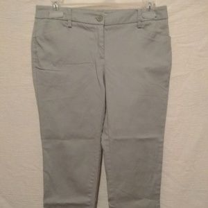 New York and company grey capris